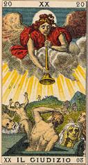 e608378d8c148b Le Jugement - Carte du Tarot   Tarot Divinatoire